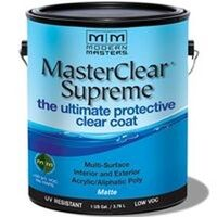 Master Clear Coat Matte, Gallon