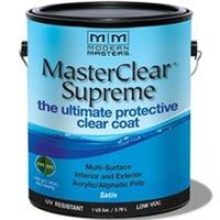 Master Clear Coat Satin, Gallon