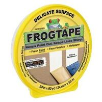 "Delicate Surface Frog Tape, 0.94"" x 60 Yds"