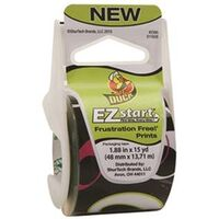 "Duck EZ Start Packaging Tape, 1.88"" x 15 Yds Olive"