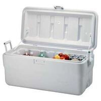 Marine Cooler, 102 Qt  White