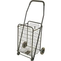 SHOPPING CART BLK 88LBS CAP