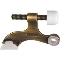 STOP DOOR HINGE PIN ANT BRASS