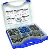 Pocket Hole Screw Kit, 675 Pk
