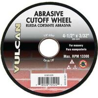 "Abrasive Cut Off Wheel, 4 1/2"" x 3/32"""
