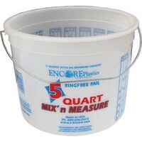 Mix N Measure Pail with Handle, 5 Qt