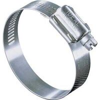 "Plumbing Grade Hose Clamp, 1 5/16"" x 3 1/4"" Stainless Steel"