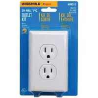 OUTLET BOX DUP SWITCH WHITE