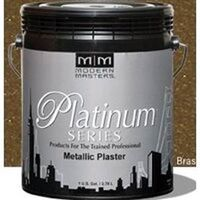 Metallic Plaster, 1 Qt Brass