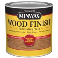 Minwax Interior Stain Wood Finish, 1/2 Pt Red Chestnut
