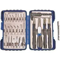 Hobby Knife Set,  33 Pc