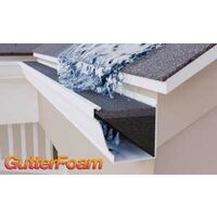 "Gutter Stuff Foam Filter, 5"" x 4'"