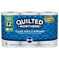 Quilted Northern Toilet Paper, White 6 Pk