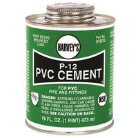 Harvey's 018220-12 P-2 PVC Cement