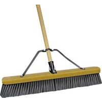 Stiff Poly Push Broom, 24""