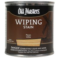 Old Masters 12916 Oil Based Wiping Stain