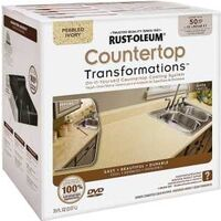 Transformations Countertops Refinishing Kit, Large Pebbled Ivory