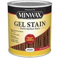 Minwax Interior Oil Gel Stain, 1 Qt Hickory