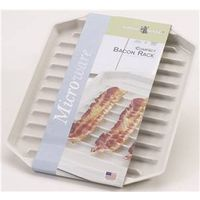 BACON RACK MICRWV CMPCT PLSTC