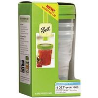 JAR PLASTIC 8OZ FREEZER