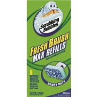 Fresh Brush Scrubbing Bubbles 22148 2-in-1 Brush Refill