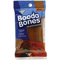 Bigger Booda Bone, Bacon, 2Pk