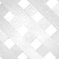 Diamond Lattice, 4' x 8' White