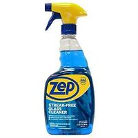 Zep Streak Free Glass Cleaner, 32 oz