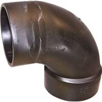 Genova Products 82926 ABS-DWV 90 Degree Street Elbow