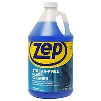 Zep Streak Free Glass Cleaner, 128 oz