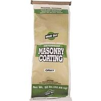 Wall Dri Concrete Waterproof Masonry Coating, 50 Lbs Gray