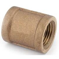 Low Lead Brass Coupling, 3/8""