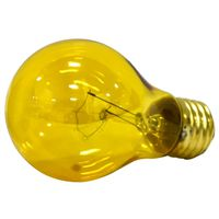 Bulb Lt 25w Transparent Yel - Case of 6