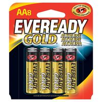 Eveready Gold A91BP-8 Alkaline Battery