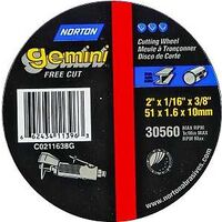 Aluminum Oxide Metal Cut Off Wheel, 2""