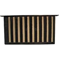 "Jumboo Foundation Vent, 16"" Black"