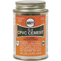 Harvey's 018710-24 C-4 CPVC Cement