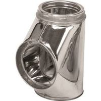 Selkirk 206100 Insulated Chimney Tee with Tee Cap