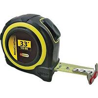 "SAE & Metric Tape Measure with Rubber Shell, 1"" x 33'"