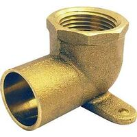 4707-3-5 1/2 CXF 90 Degree Drop Cast Copper  Elbow, Low Lead