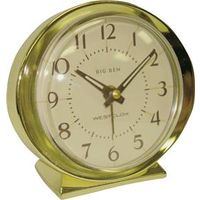CLOCK ALARM 1964 BIG BEN GOLD