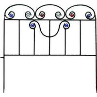 Decorative Scroll Garden Fence