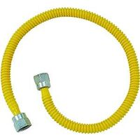 "Gas Appliance Connector Supply Line, 3/8"" x 10"""