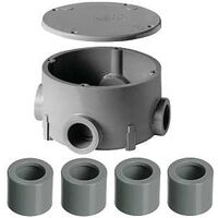 "Round Junction Box Reducer, 1/2"" to 3/4"""