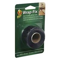 "Electrical Tape Wrap, 1"" x 10' Black"