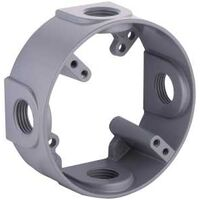 Round Extension Adapter, Gray
