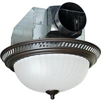 Air King AKLC701 Quiet Round Exhaust Fan/Light