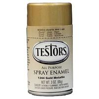 Testors Hobby Model Spray Paint, 3 oz Gold