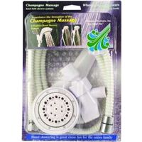 Massage Hand Shower Kit, White