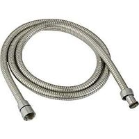 Metal Stretch Shower Hose, 9&quot;